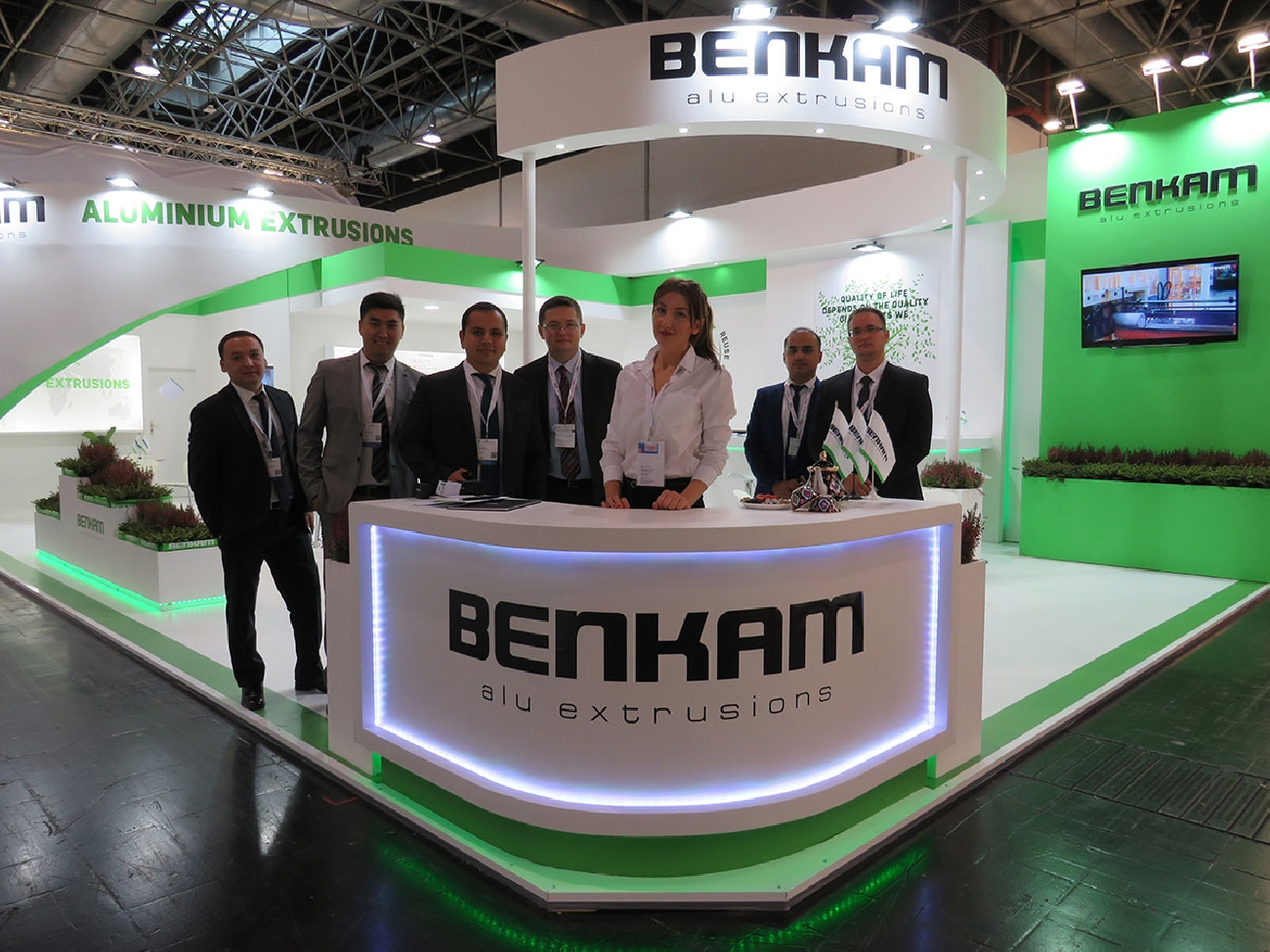 BENKAM is pleased to announce the successful participation at the world exhibition ALUMINUM MESSE 2018 in Düsseldorf.